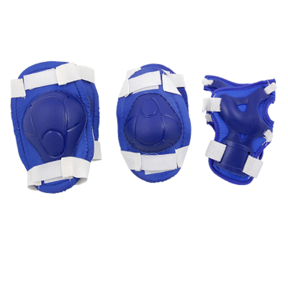 Blue Knee Elbow Wrist Pad Sports Support for