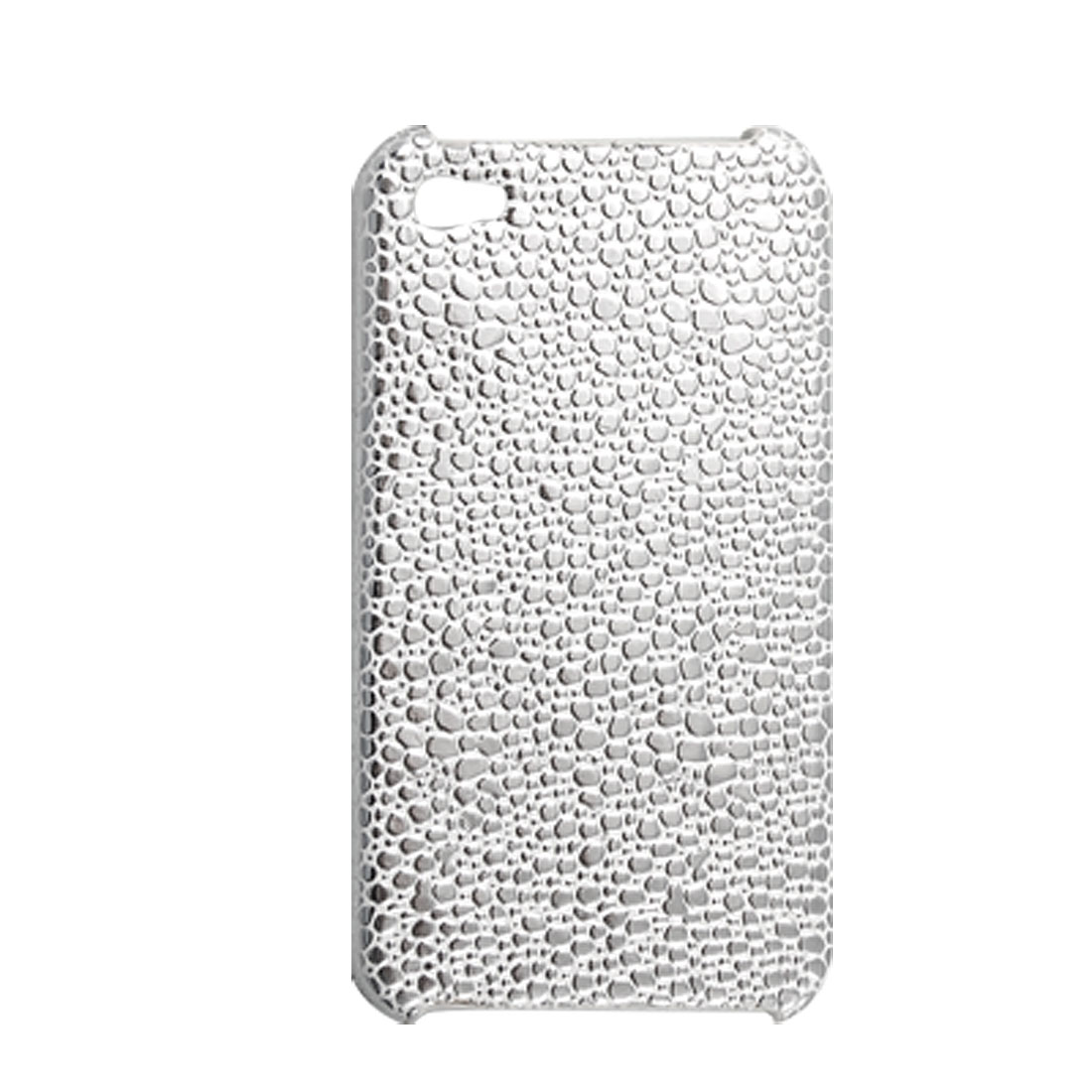 Pebbles Pattern Shiny Hard Plastic Back Case Cover for iPhone 4 4G