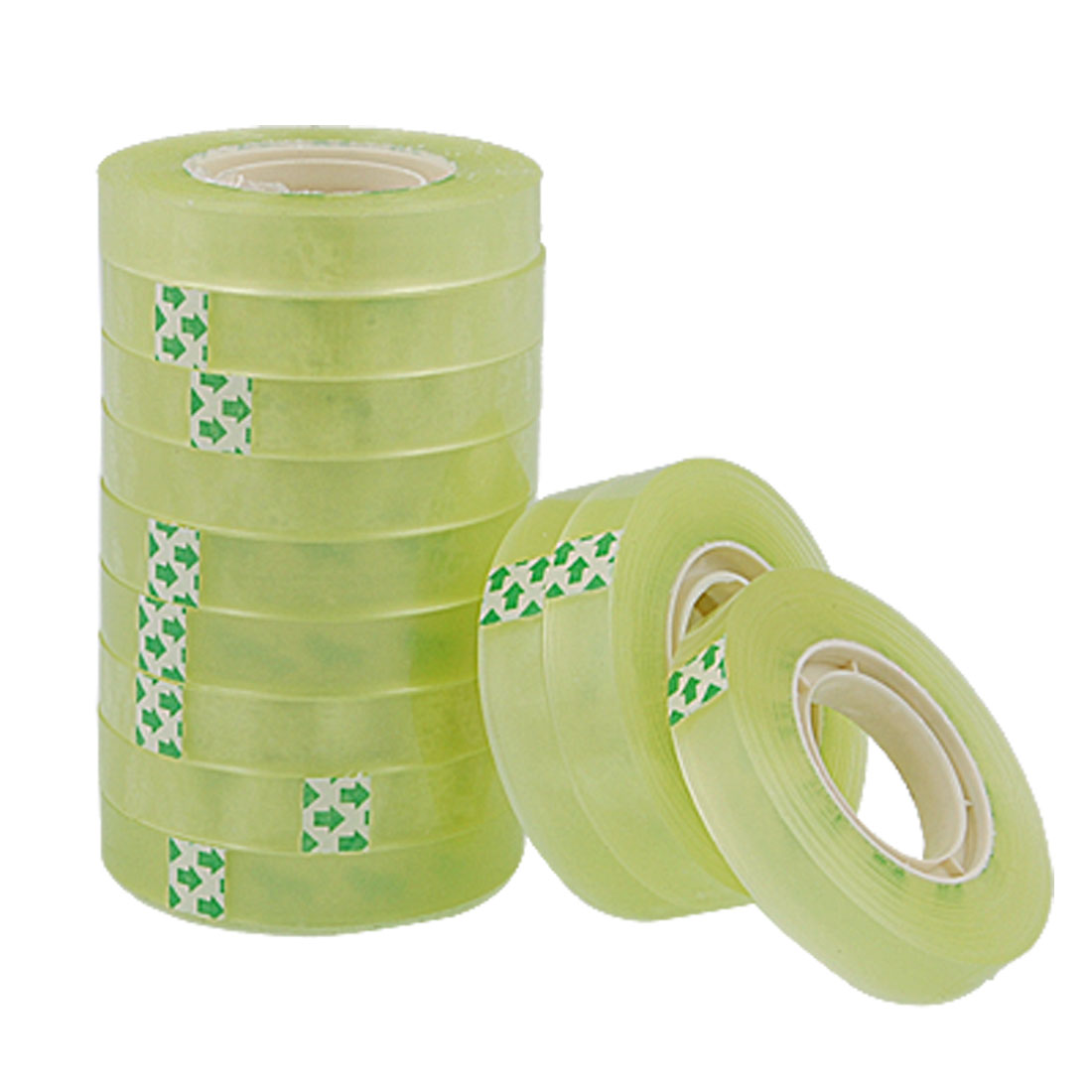 12 PCS Office Statiionery Package Adhesive Clear Tape