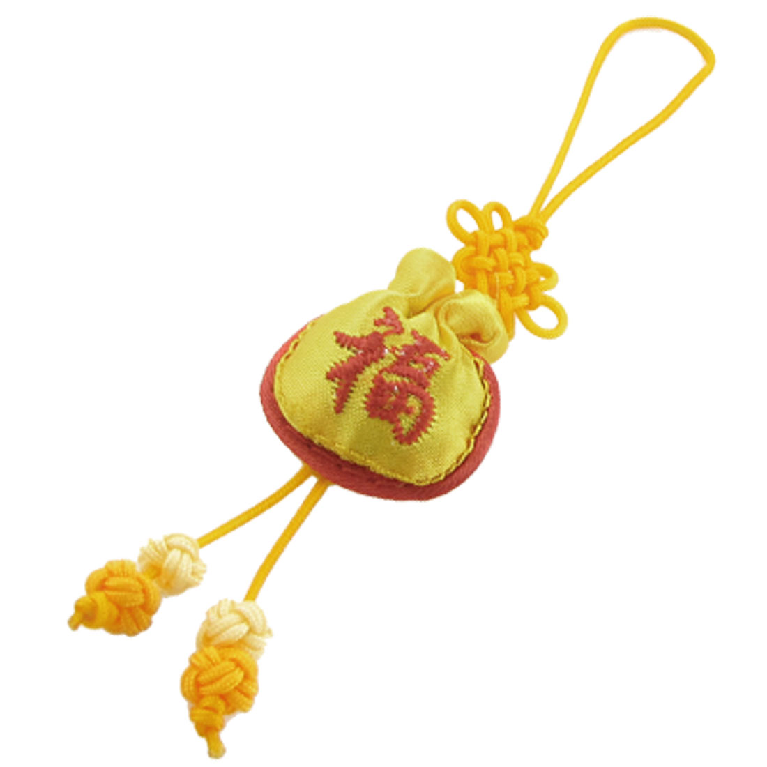 Cell Phone Camera PDA MP4 Straps Dangle Yellow Charm