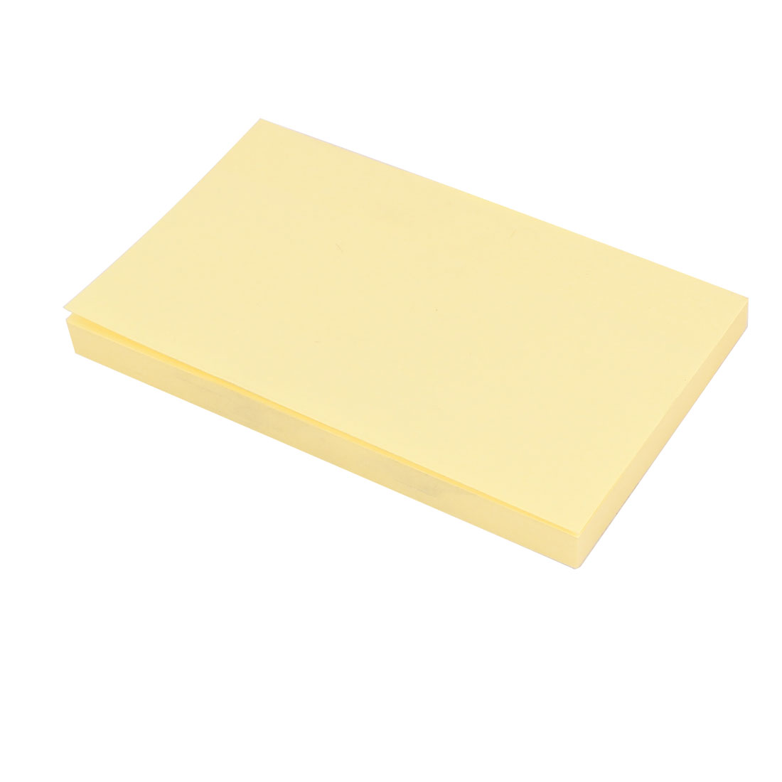 100 Pages Rectangle Note Self Stick Paper Yellow