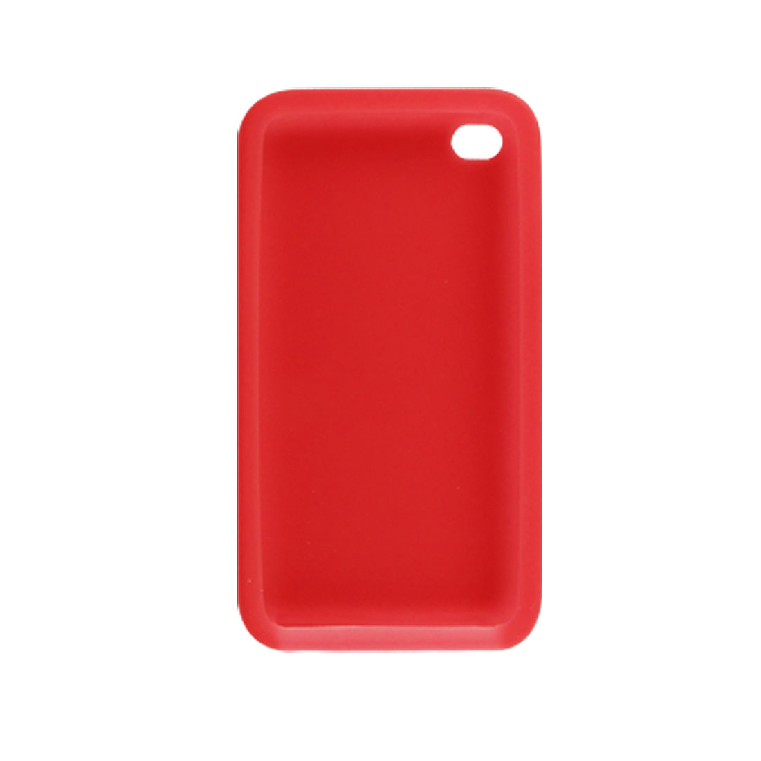 Protective Soft Skin Red Case for Apple iPod Touch 4G