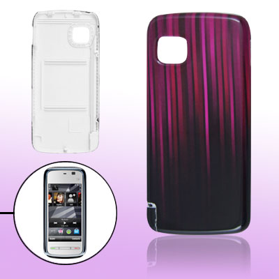 Wood Grain Battery Door Cover for Nokia 5230 5235