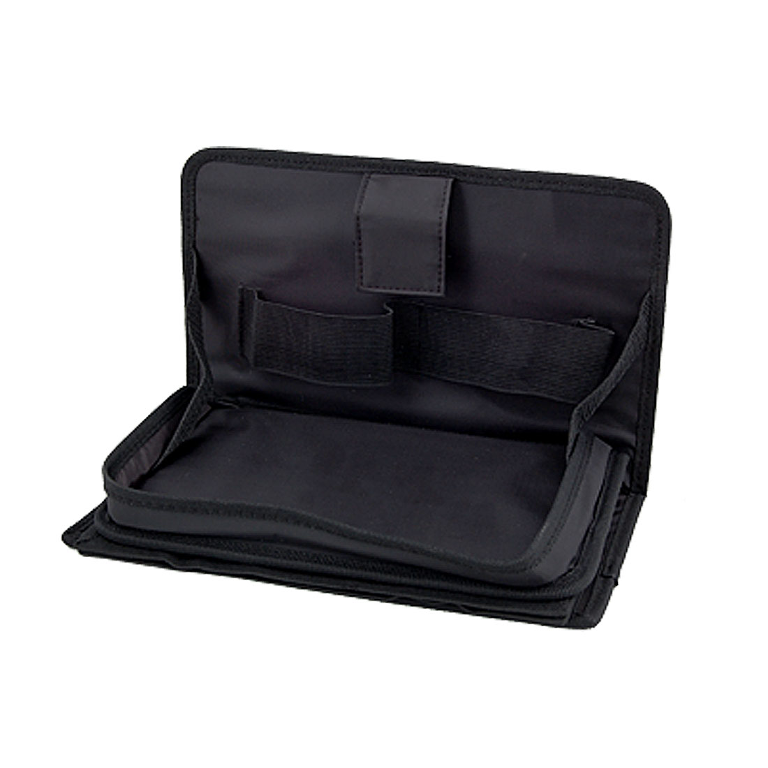 Auto Car Black Terylene Nylon Layered Folding Holder