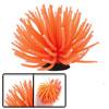 Orange Red Coral Design Decorative Ornament for Aquarium