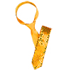 Glittery Sequins Skinny Necktie Neckwear