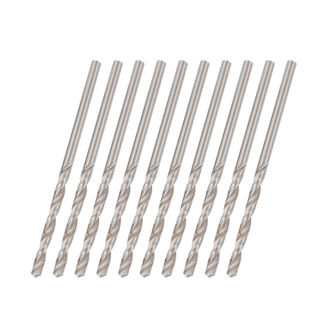 2mm Twist Drill Bits Metric 2.0mm 10 Pieces 17mm Long