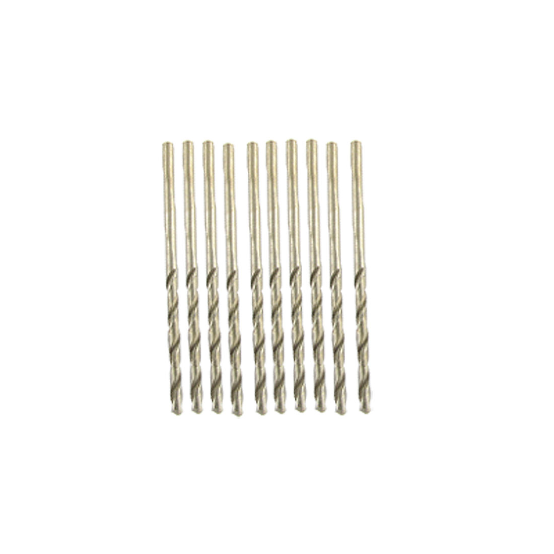 2mm Diameter Dull Edged Metal Twist Drill Bit 10PCS