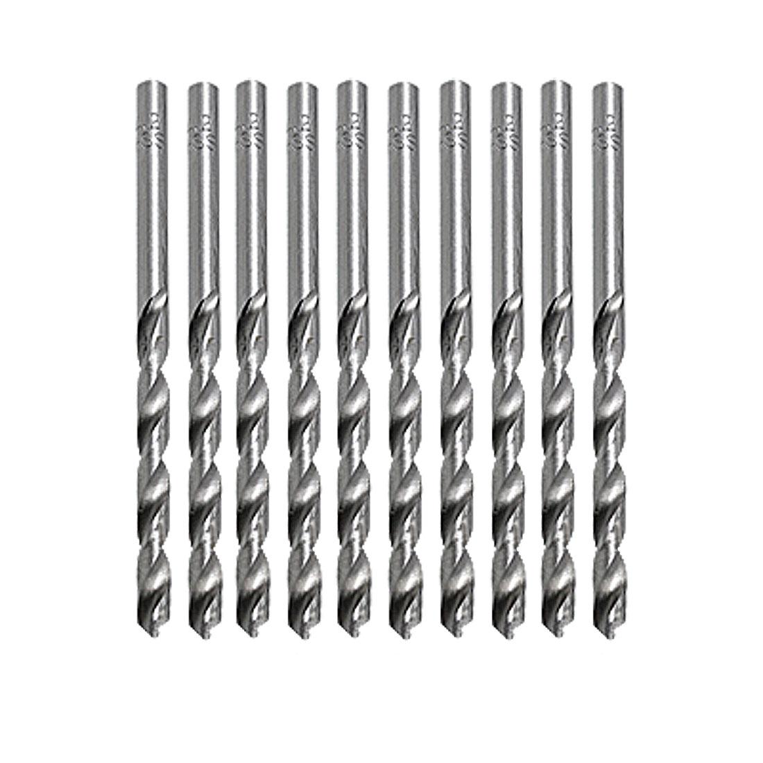 10 pcs 2.5mm Diameter Shank Twist Drill Tip Tool