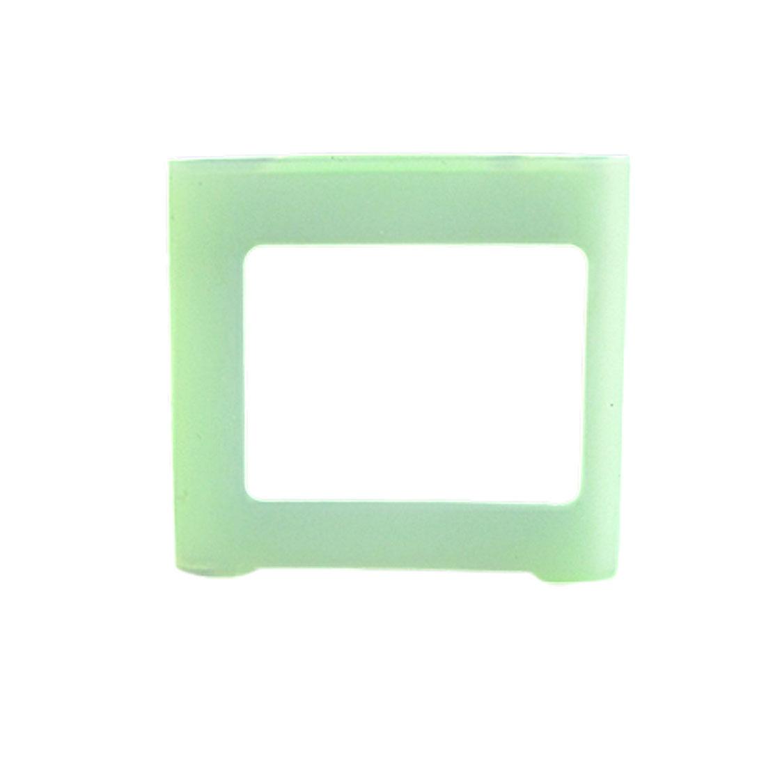 Green Silicone Skin Slim Case Cover for iPod Nano 6