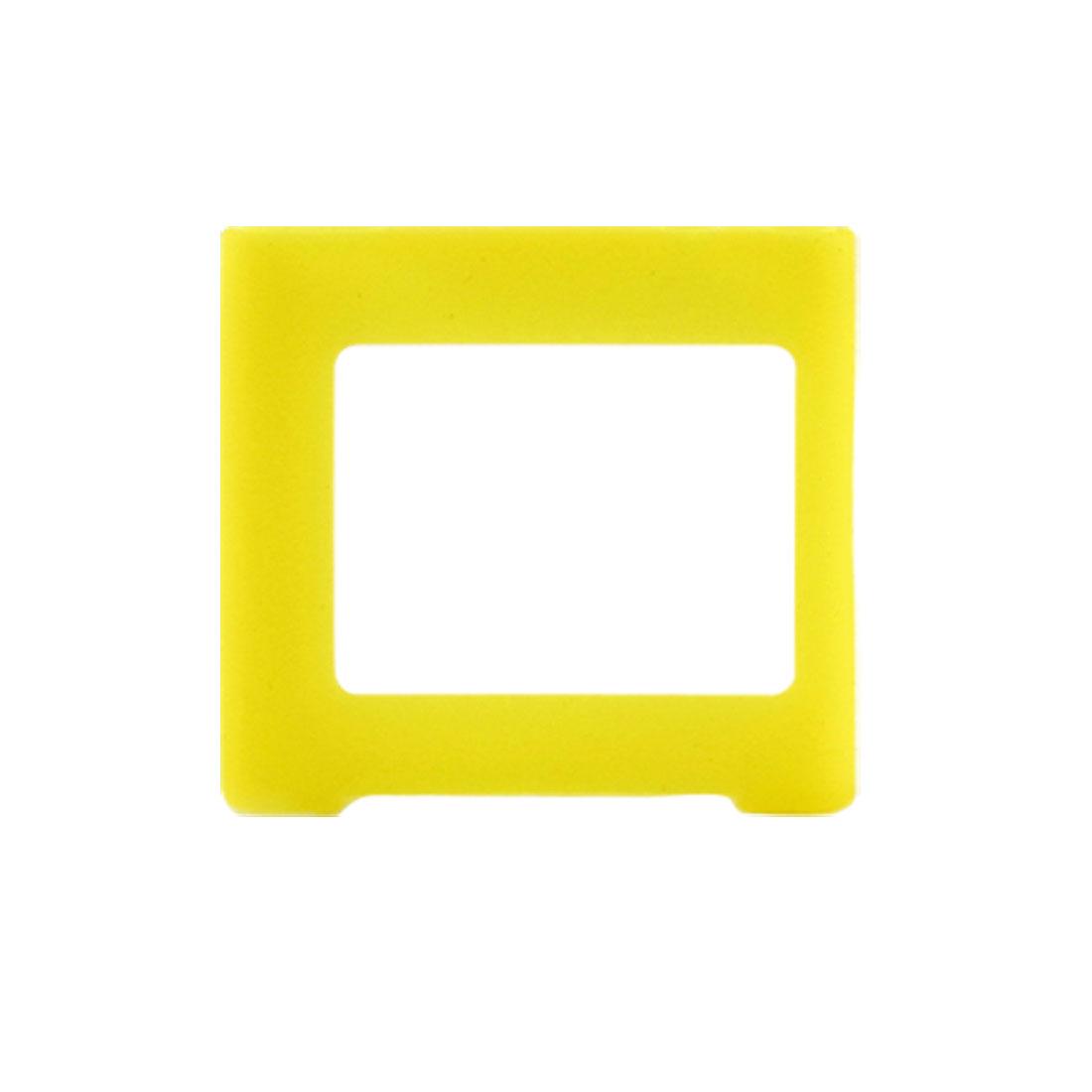 Yellow Silicone Skin Slim Case Cover for iPod Nano 6