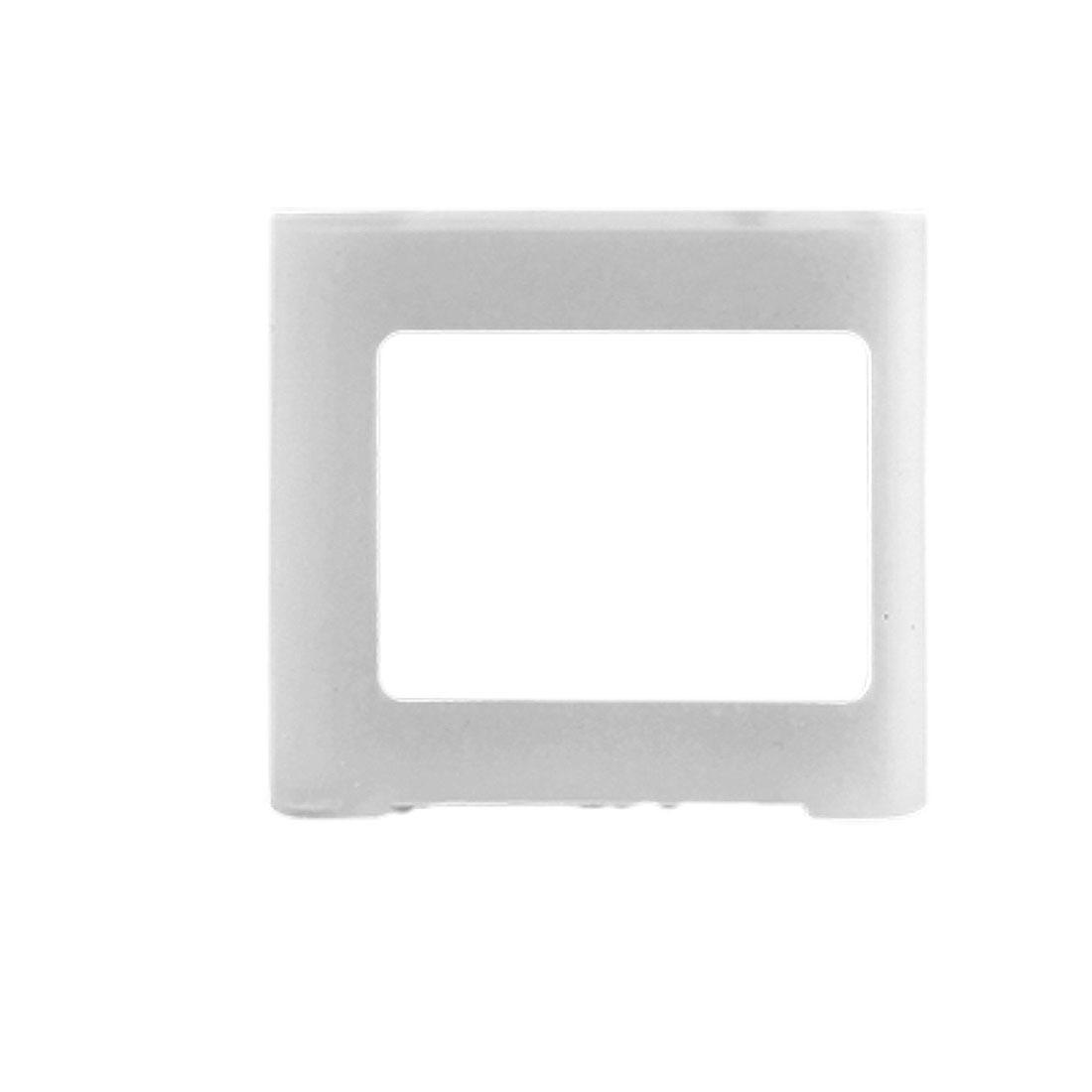 Clear White Silicone Skin Slim Case for iPod Nano 6