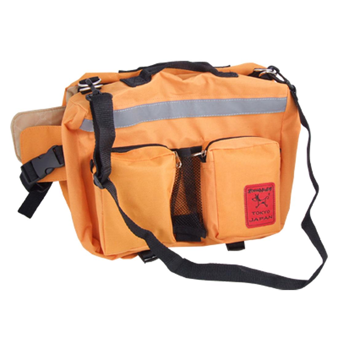 Casual Orange Pet Carrier Hiking Dog Packsack Backpack Large