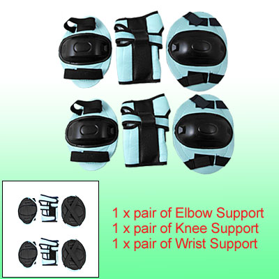 Children Knee Elbow Wrist Pad Support Sports Protector