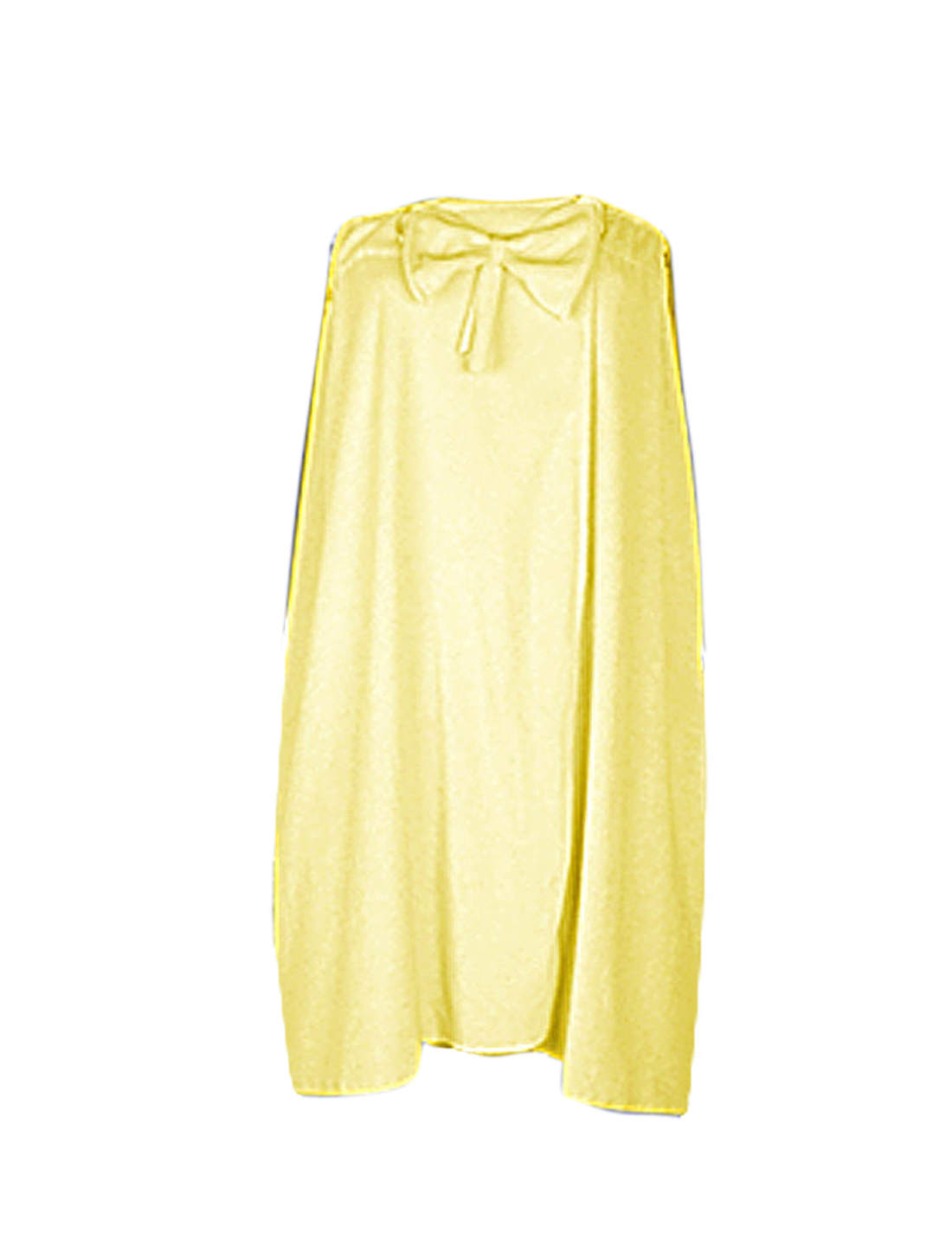 Women Light Yellow Terry SPA Body Wrap Towel Shower Bath Robe