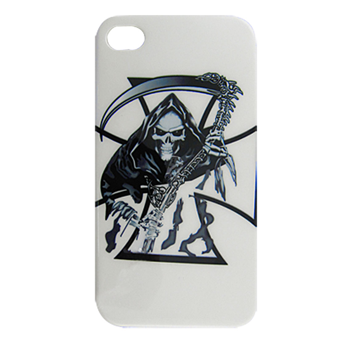 the Angle of Death Hard Plastic Back Case + Car Chagrer for iPhone 4G 4