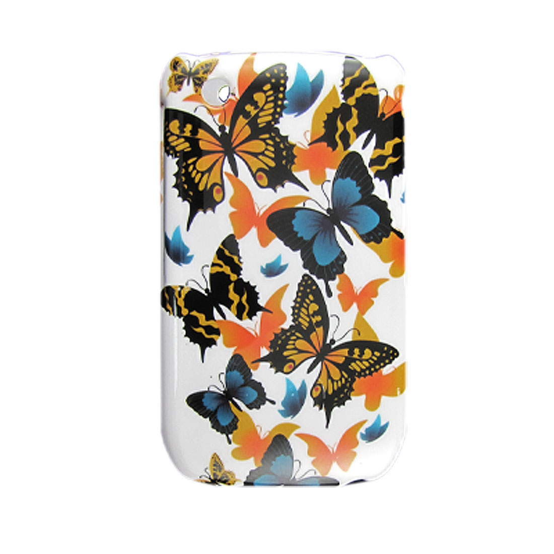 Hard Plastic Butterfly Patern Protect Case for Blackberry 8520