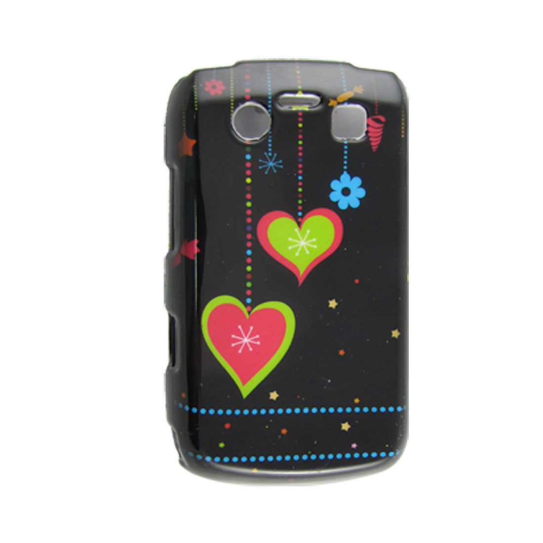 Heart Pattern Hard Plastic Protective Cover for Blackberry 9700