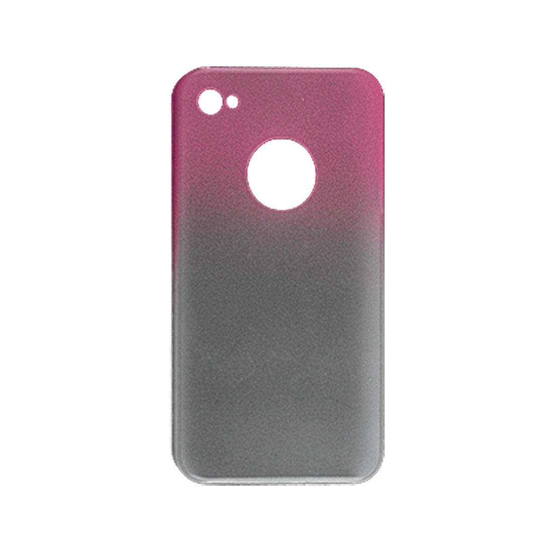 Gradient Color Hard Plastic Back Case for Apple iPhone 4 4G