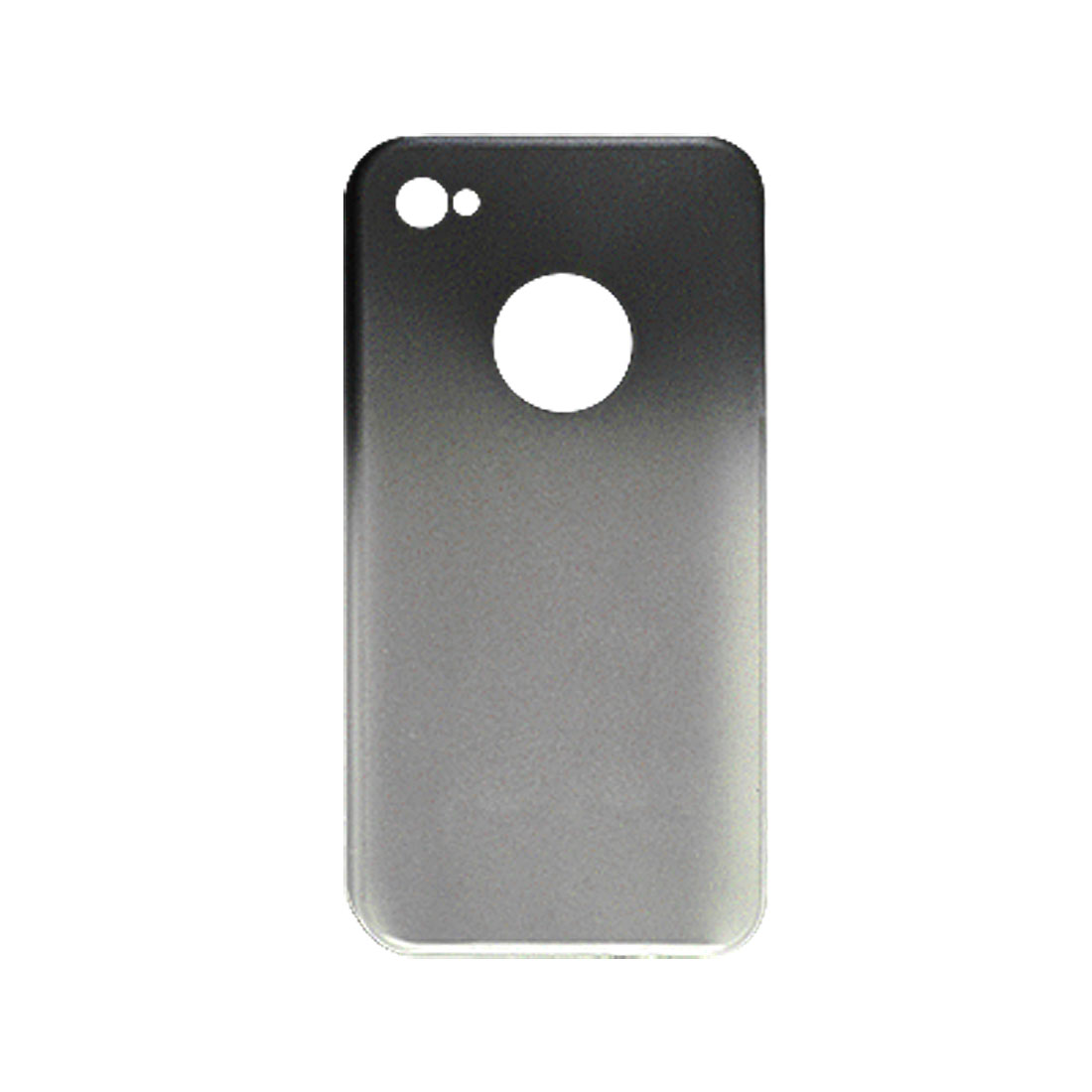 Rubberized Hard Plastic Dual Colors Back Case for iPhone 4 4G
