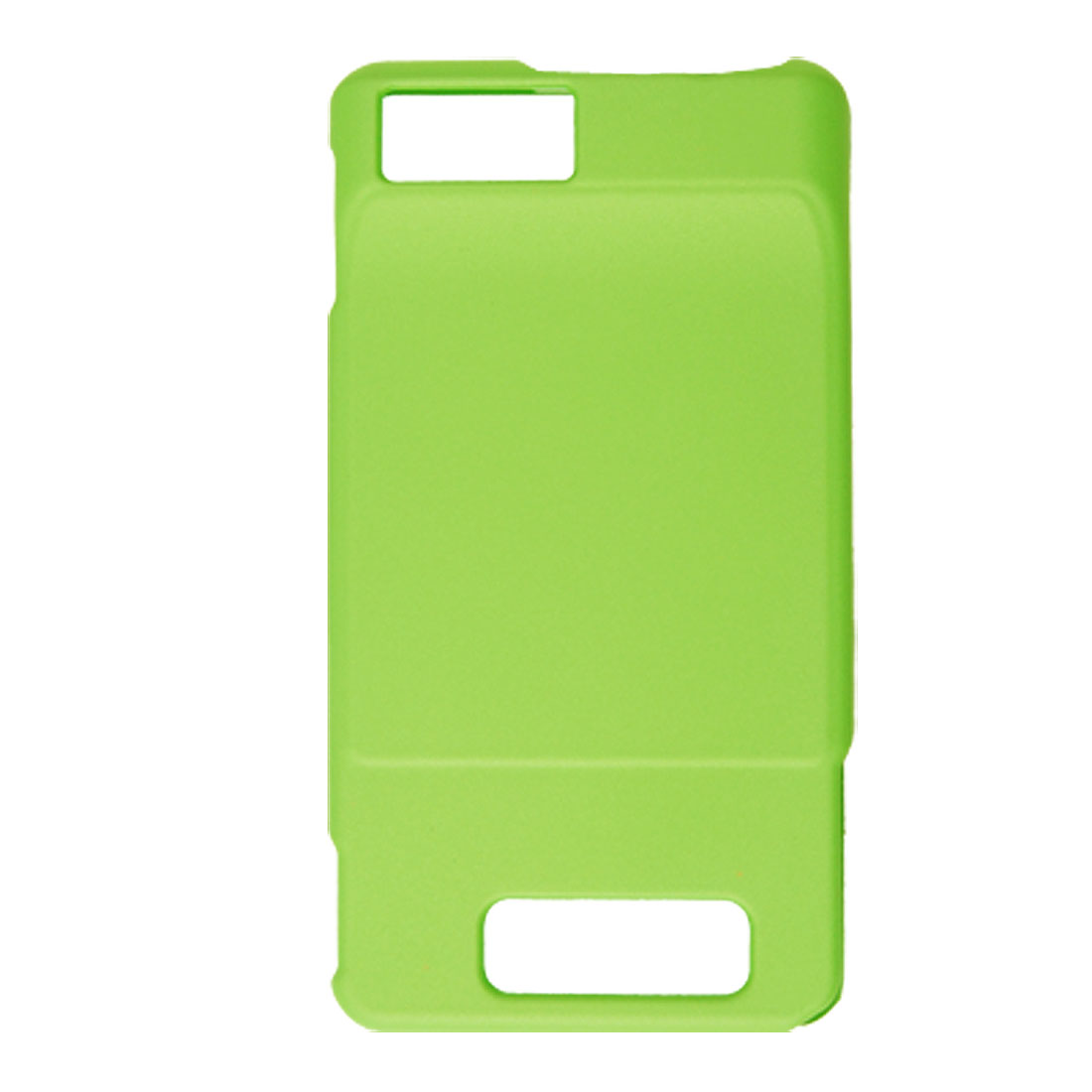 Green Hard Plastic Rubberized Case for Motorola MB810