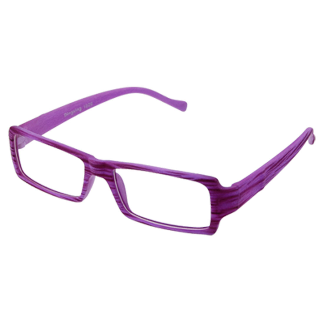 Purple Plastic Full Rim Frame Small Glasses for Adult