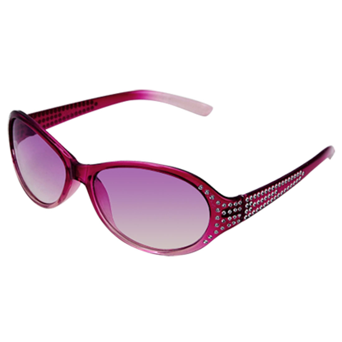 Rhinestone Full Frame Plastic Arms Sunglasses for Child
