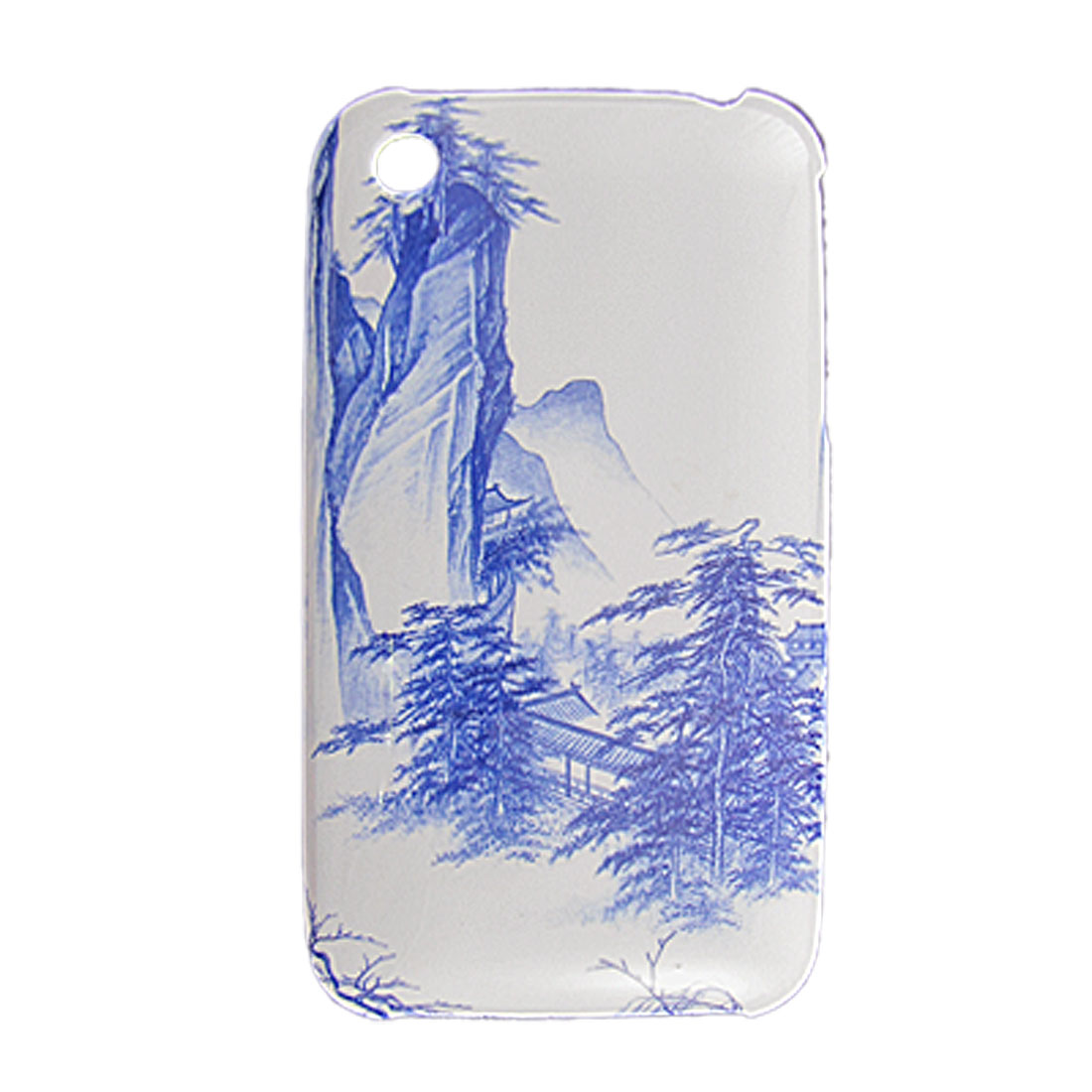 Hard Plastic Landscape Noun Back Case for iPhone 3G