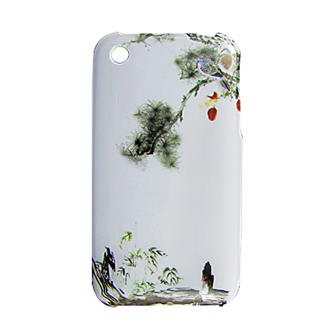 Nature Landscape Print Plastic Back Case for iPhone 3G