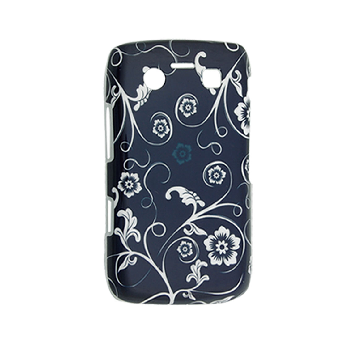 Floral Hard Plastic Back Protector Case for Blackberry 9700
