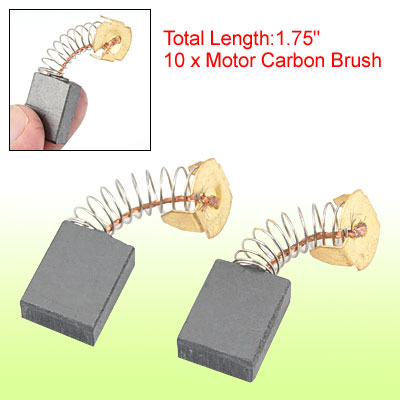 17.5mm x 12.7mm x 6.4mm Electrical Motor Carbon Brushes 10 pcs