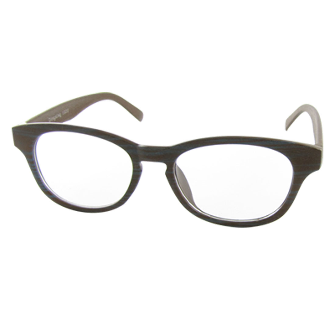 Wood Grain Plastic Full-rim UV Protection Sunglasses