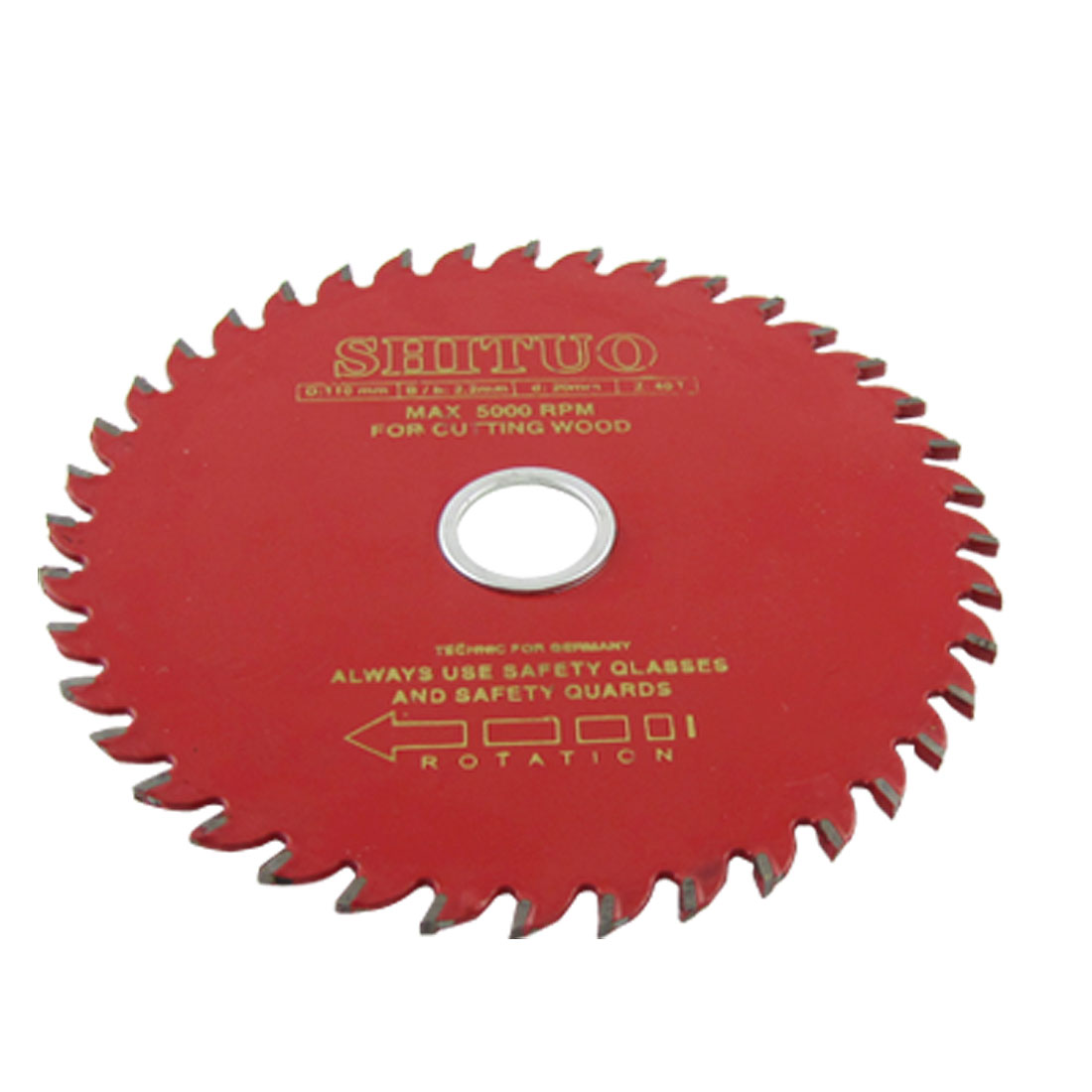 110mm Diameter 40T Rotary T.C.T Metal Saw Cutter for Wood Cutting