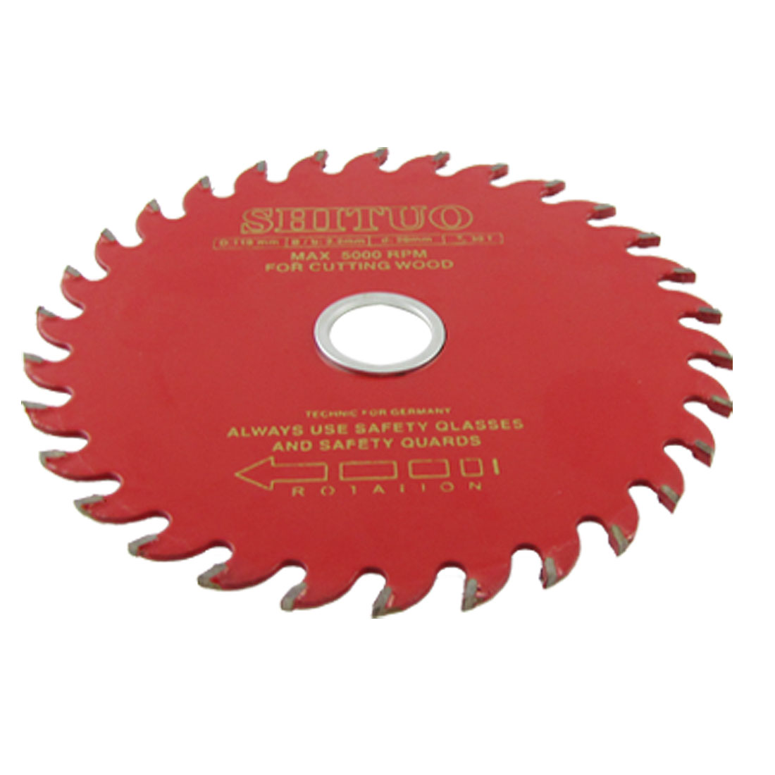 110mm Diameter 30T Round TCT Saw Cutter Wheel for Wood Cutting