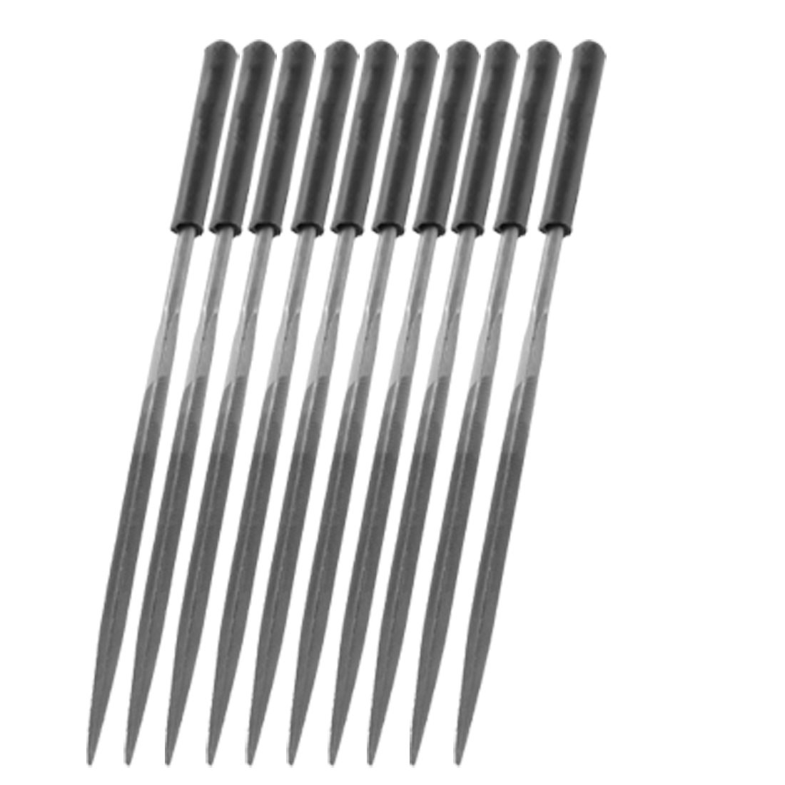 10Pcs Jewelers 16cm Three Square Triangle Needle Files