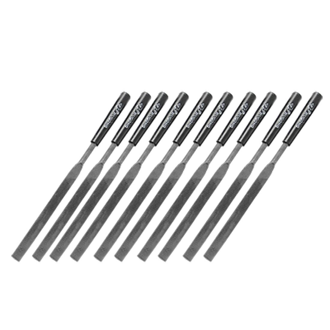 Craft Making Tool 18cm Equalling Needle Files Set 10Pcs