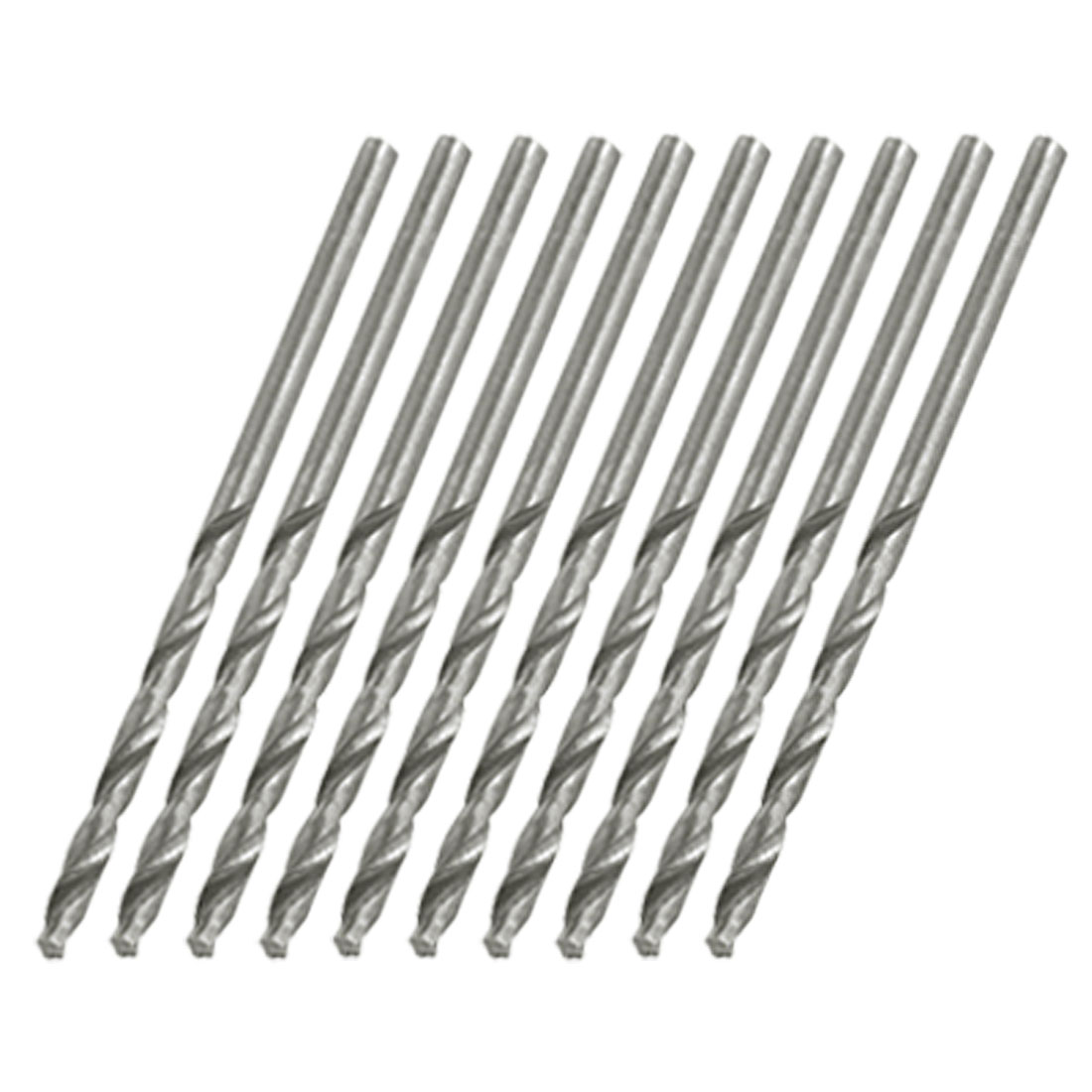 10 x Straight Shank Spiral Twist Drill Drilling Bits 2.3mm