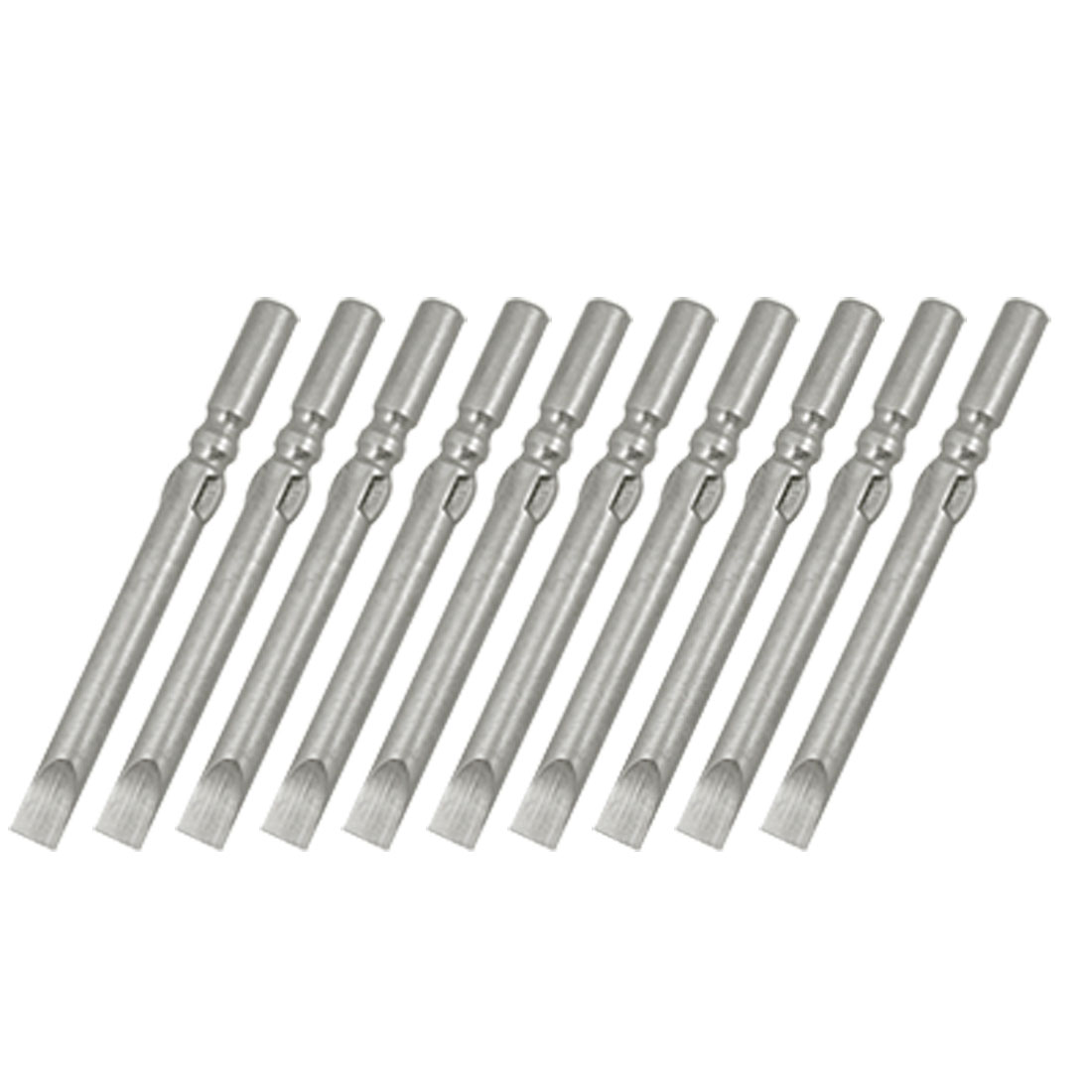 5mm Width Tip 6cm Length Slotted Screwdriver Bits 10 PCS