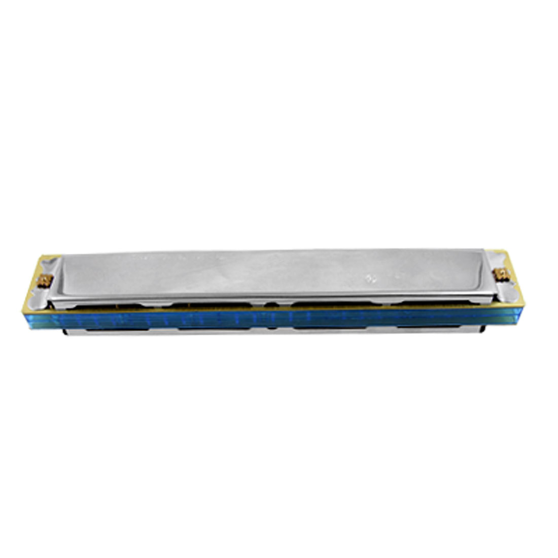 Light Blue 48 Holes Octave Harmonica Mouth Organ
