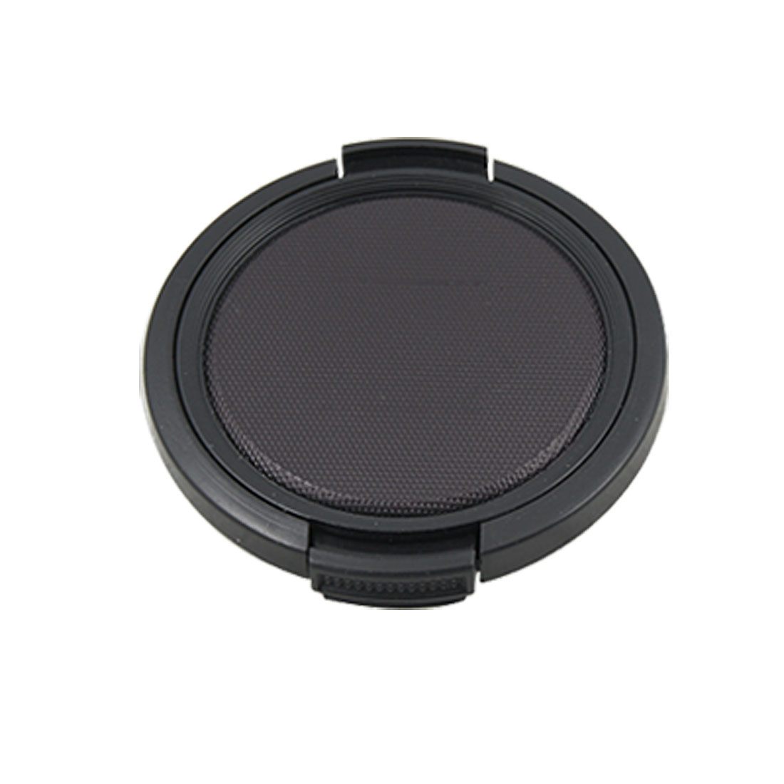 Textured Black Plastic 52mm Dia Lens Cover Cap for Camera