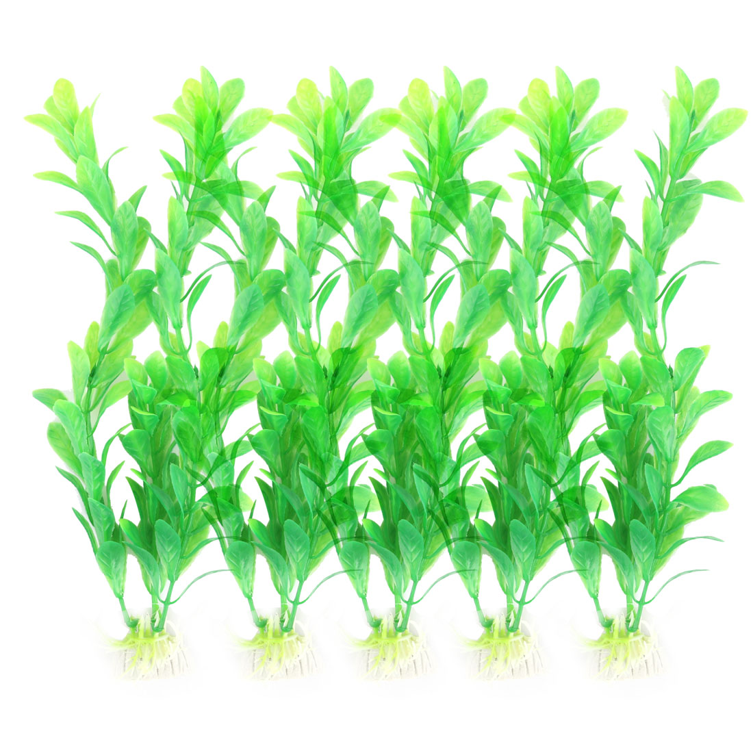 5 Pcs Fish Tank Aquarium Plants Grass Ornament Decor