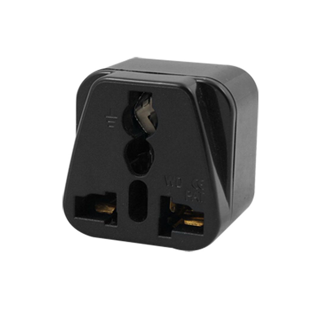 US Plug to UK AU Outlet 250V Traveling Universal Adapter Socket