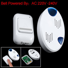 Remote Control Wireless Door Bell Chime w 36 Ringstones