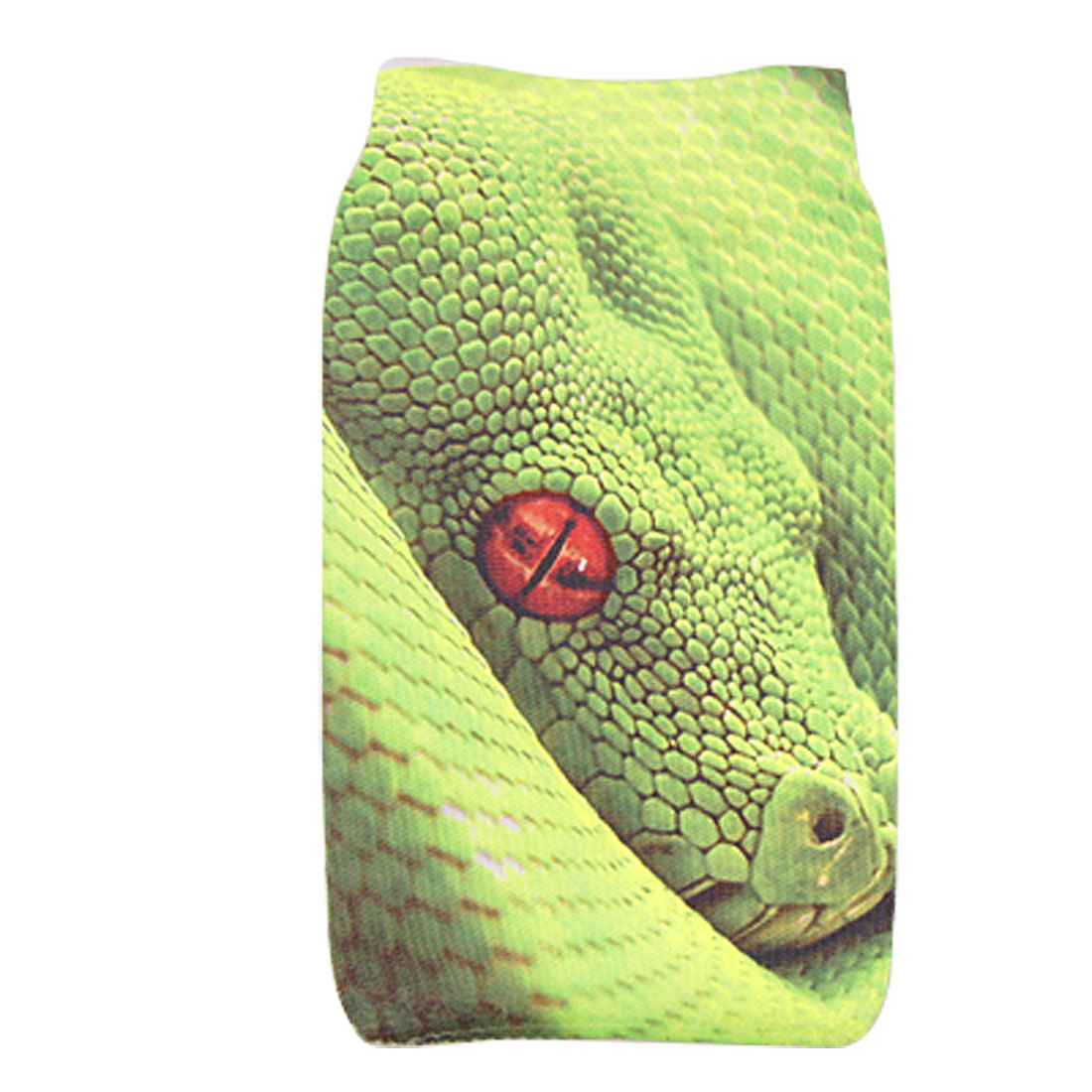 Green Lizard Pattern Stretchy Sock Bag for Mobile Phone