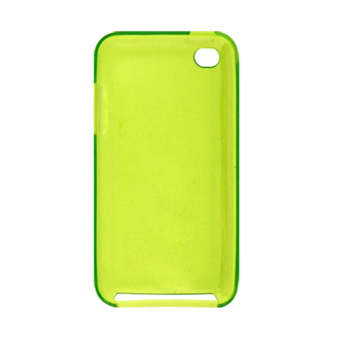 Pale Green Plastic Soft Back Cover for iPod Touch 4G