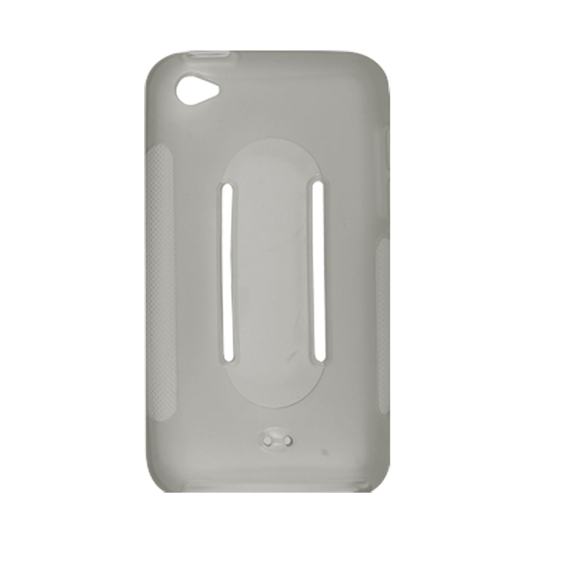 Lightweight Clear Grey Soft Case for Apple iPod Touch 4G New