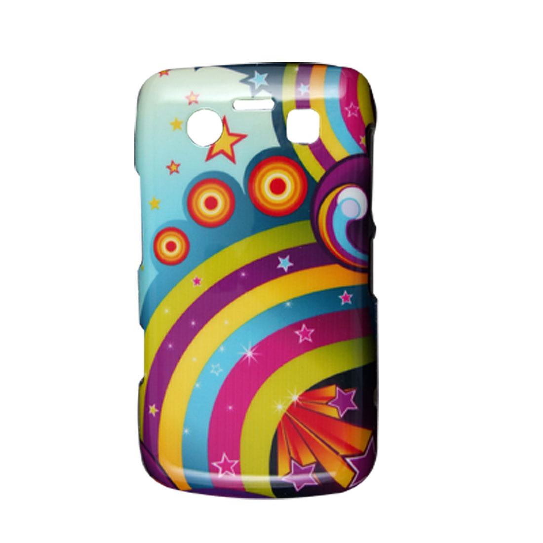 Colorful Printed Hard Plastic Back Case for Blackberry 9700 9020