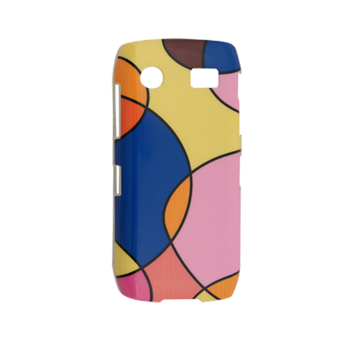 Colors Retro Pattern Hard Plastic Back Case for Blackberry 9100
