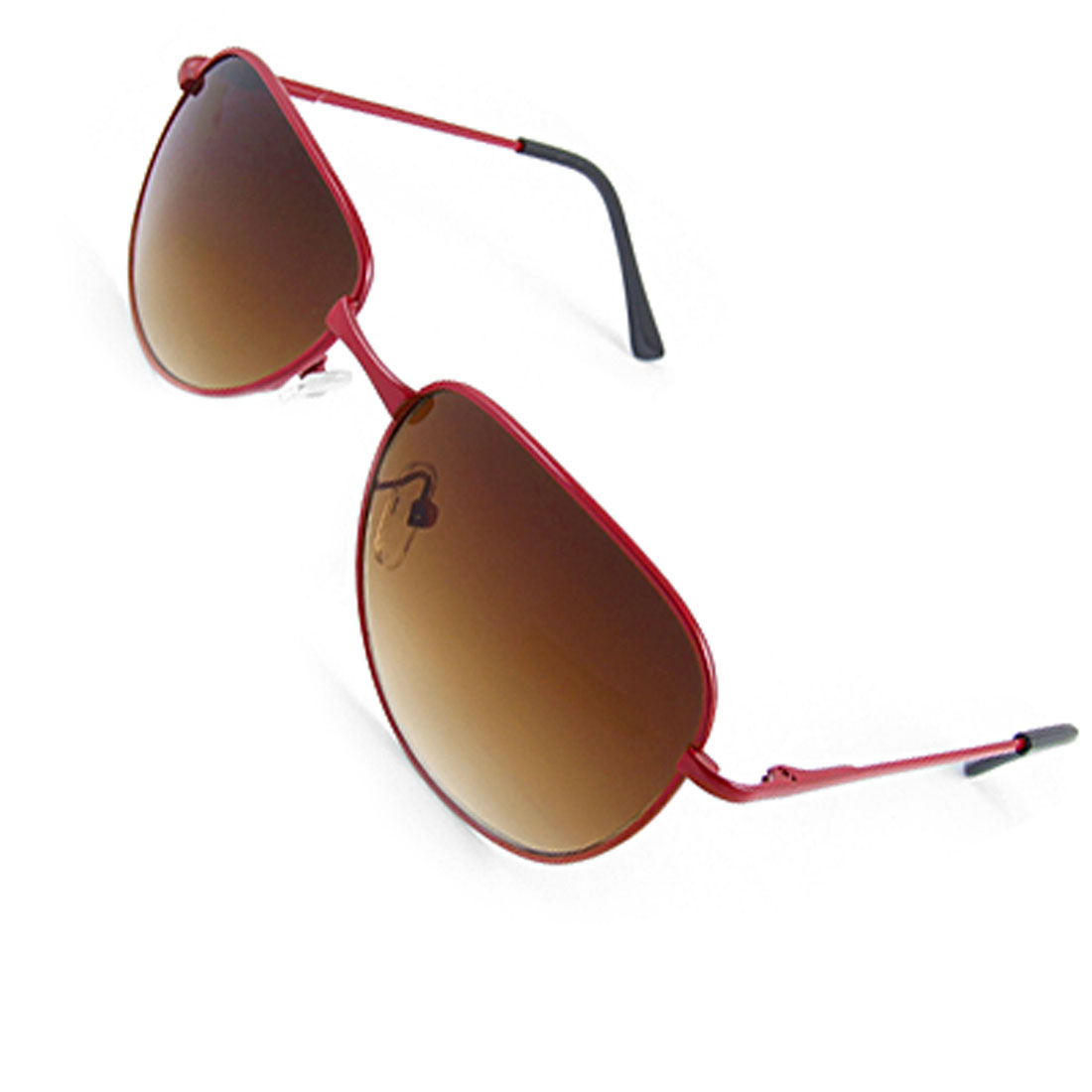 Children Red Metal Full Rim Frame Outdoor Sunglasses