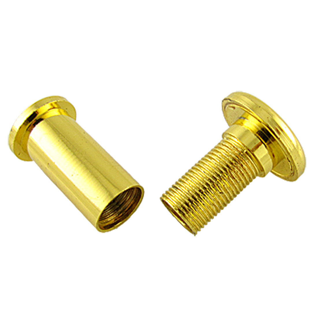 Home Safety Gold Tone 180 Angle Door Viewer Peep Hole